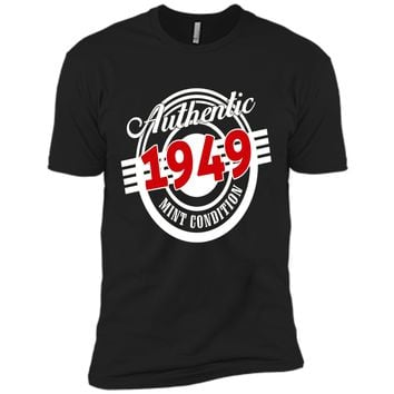 Vintage 1949 T-Shirt. Birthday Gifts For Women/Men