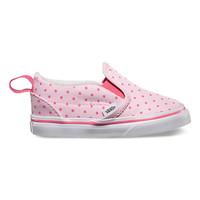 Vans T Slip On V(Chambray Dots)Hot Pink