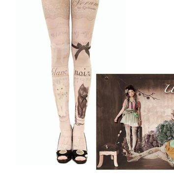 Velvet leggings stockings pantyhose tattoo socks women fake high tube