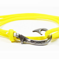 Yellow Fish Hook Bracelet (New)