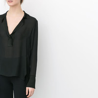 OVERSIZED STUDIO BLOUSE
