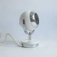 Atomic Desk Lamp, Space age 70's Vintage Table Lamp