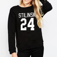 2016 Autumn Winter Wolf Stiles Stilinski Teen 24 Women Sweatshirt Jumper Casual Harajuku Hoodies For Lady Funny Hip Hop Street