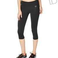 Live Love Dream  Womens LLD Solid Crop Leggings