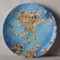 Under The Sea Melamine Canape Plate by Voutsa