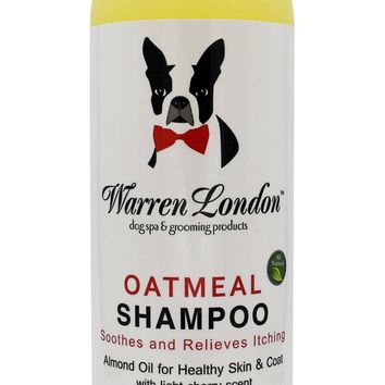 Oatmeal Shampoo - For Dogs With Itchy Skin and Coats - Cherry Scented