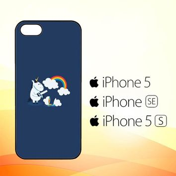 Unicorn Rainbow O0009  iPhone 5|5S|SE Case