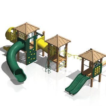 Planet Playgrounds Funscape PPG3 Playground