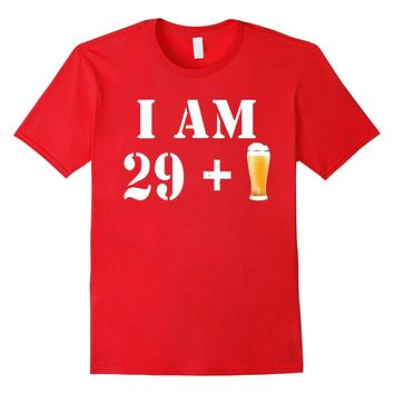 30th Birthday T-Shirt Funny Vintage Gift Idea For Beer Lover