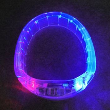 DCCKIX3 Jewelry Shiny Stylish Gift New Arrival LED Lightning Plastic Creative Ring [4915331844]