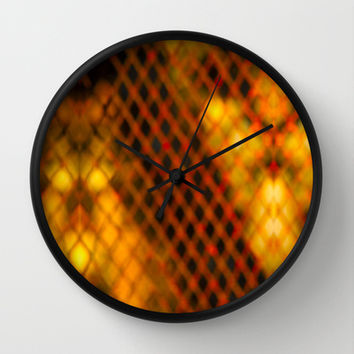 Ambient Background #1 Wall Clock by Bruce Stanfield