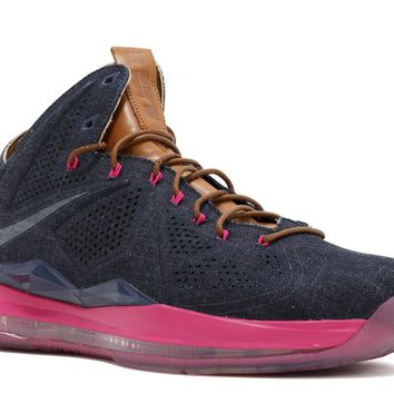 LEBRON 10 EXT DENIM QS 'DENIM' - 597806-400