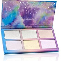 TZ COSMETIX - Aurora Borealis 6 Colors Highlighter Powder Kit Face Makeup Palette Wet Soft Powder Creme Illuminate Face Contour with Rainbow Star Box Makeup Maquiagem TZ-6FB