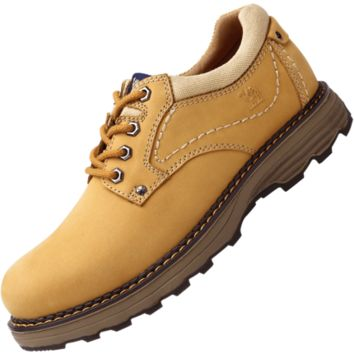 New low-tooling men's frosted leather casual tooling shoes men