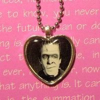 Herman Munster Fred Gwynne (The Munsters) pendant necklace