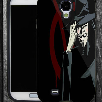 Anonymous-V for Vendeta Liberty,IPhone 5 case,IPhone 4,4S,Samsung Galaxy S2 i9100,Samsung S3 i9300,Samsung S4 i9500-B-2062013-6