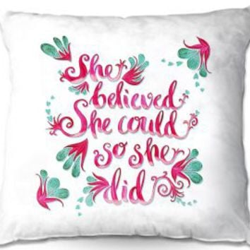 https://www.dianochedesigns.com/pillow-zara-martina-she-believed-white.html
