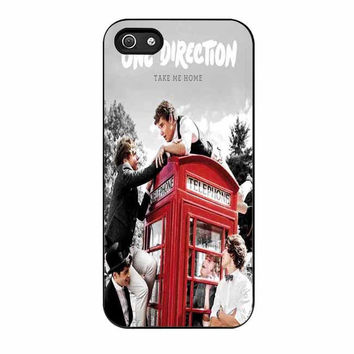 one direction red phone booth master cases for iphone se 5 5s 5c 4 4s 6 6s plus