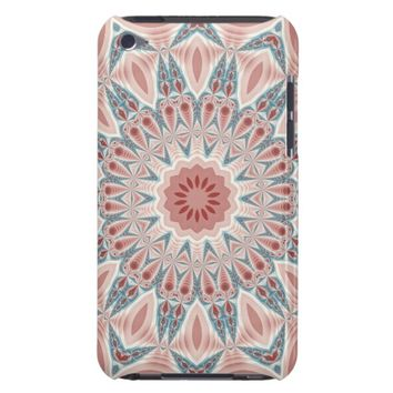 Striking Modern Kaleidoscope Mandala Fractal Art iPod Touch Case-Mate Case