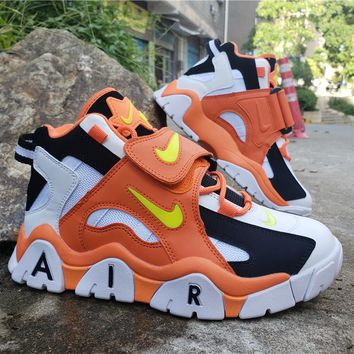 2019 Air Barrage Mid QS Orange/White/Black