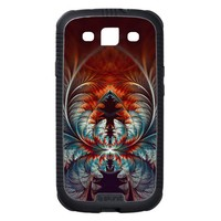 Frozen Dream Abstract Fractal Art Samsung Galaxy SIII Cover from Zazzle.com