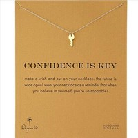Gift New Arrival Shiny Jewelry Stylish Alloy Lock Necklace  With Card [6345011585]