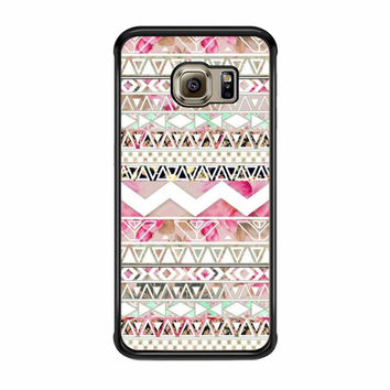 Girly Floral Tribal Andes Aztec Samsung Galaxy S6 Edge Case