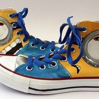 Minion Shoes Converse - Custom Converse by BlingLogo