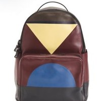 SOLD OUT VALENTINO Patchwork Leather Streetwear Backpack Menswear Made Italy a1