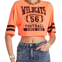 WILDCATS VARSITY CROP TOP