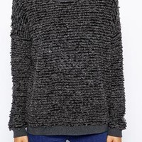 Just Female Fluffy Jumper at asos.com