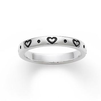 Amor Stacked Ring | James Avery