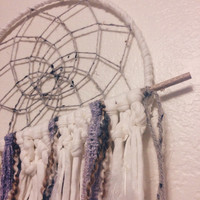 Dream Catcher with Wooden Dowel || Macrame || Hippie || Boho || Wall Hanging