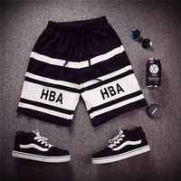 Hip-hop Summer Sea Knit Cotton Pants Beach Shorts [6541234755]