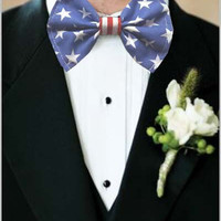 Cap America Bow Tie Marvelous Superhero bowtie Comic Book Hero