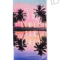 LLD Good Times Beach Towel