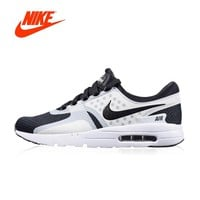 Original New Arrival Authentic NIKE AIR MAX ZERO ESSENTIAL Men's Breathable Running Shoes Sport Outdoor Sneakers 876070-101