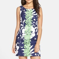 Women's Lilly Pulitzer 'Delia' Print Cotton Shift Dress,