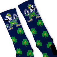 Notre Dame Fighting Irish Custom Nike Elite Socks