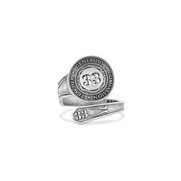 Number 33 Spoon Ring