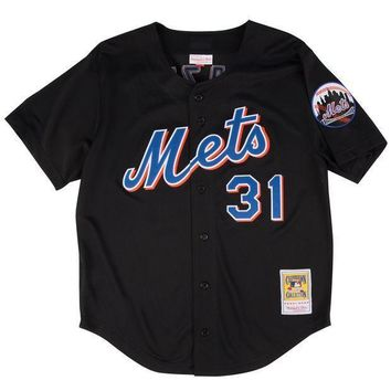 Mitchell & Ness Mike Piazza 2000 Authentic Mesh Bp Jersey New York Mets - Beauty Ticks
