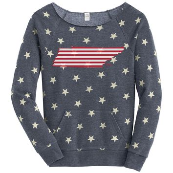 Tennessee Stars and Stripes Fleece Women's Pullover