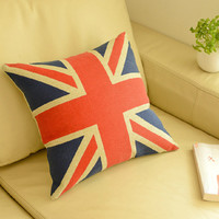 England Style Cotton Linen Creative Cars Cushion [6283599110]
