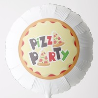 Pizza Party - Large Helium Balloon