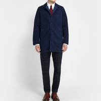 Blue Blue Japan - Indigo-Dyed Cotton Coat | MR PORTER