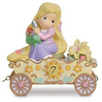 ''I'm in Heaven to Be Seven'' Seventh Birthday Rapunzel Figurine by Precious Moments   Disney Store
