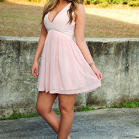 In The City Pretty Dress: Light Pink
