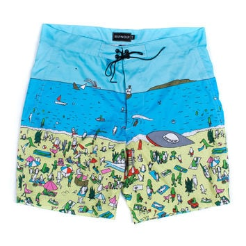 Roswell Beach Swim Shorts