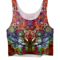 Trip Tree Crop Top