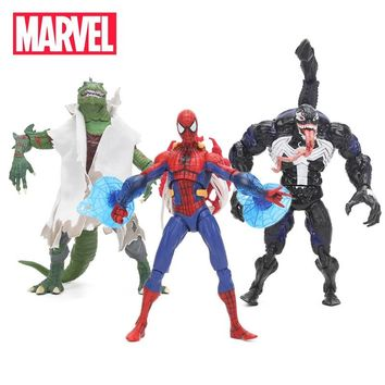 18cm Marvel Toys Spider-Man Venom Lizard Carnage PVC Action Figure Spiderman Figures Superhero Collectible Model Doll Toy
